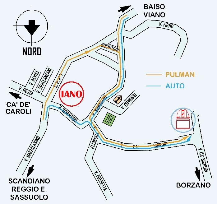 Cartina dettagliata