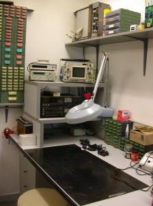 Il laboratorio elettronico