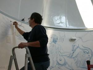 Disegno cupola grande
